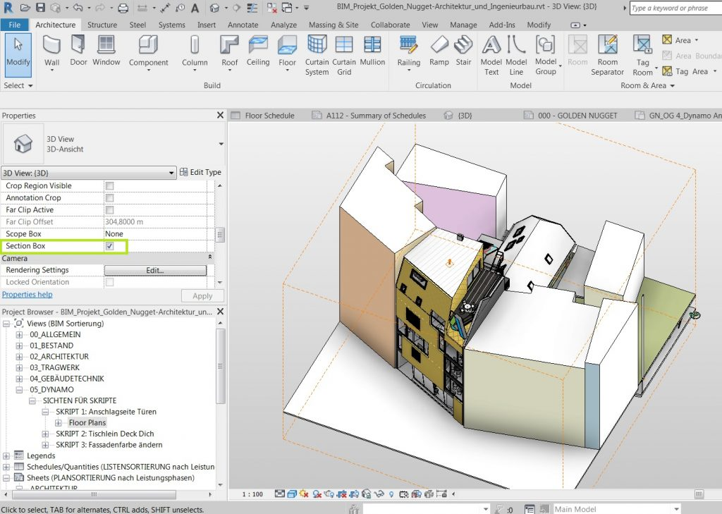 Revit – Section Box