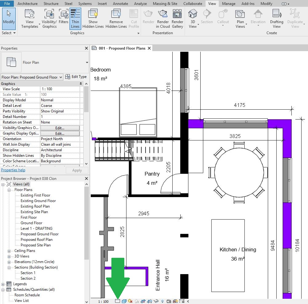 Moving from Planning to Tender Stage Drawings with Revit